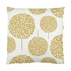 Loboloup Hydrangea Quote Floral And Botanical Flower Standard Cushion Case (one Side) by Mariart