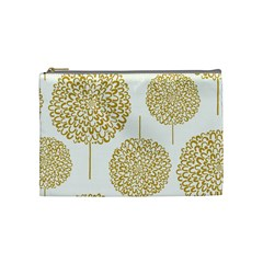 Loboloup Hydrangea Quote Floral And Botanical Flower Cosmetic Bag (medium)  by Mariart