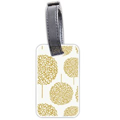 Loboloup Hydrangea Quote Floral And Botanical Flower Luggage Tags (one Side)  by Mariart