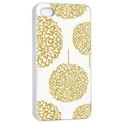 Loboloup Hydrangea Quote Floral And Botanical Flower Apple Iphone 4/4s Seamless Case (white) by Mariart