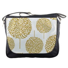 Loboloup Hydrangea Quote Floral And Botanical Flower Messenger Bags by Mariart