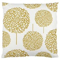 Loboloup Hydrangea Quote Floral And Botanical Flower Large Cushion Case (one Side) by Mariart