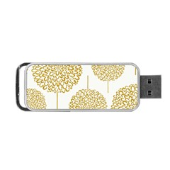 Loboloup Hydrangea Quote Floral And Botanical Flower Portable Usb Flash (two Sides) by Mariart