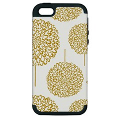 Loboloup Hydrangea Quote Floral And Botanical Flower Apple Iphone 5 Hardshell Case (pc+silicone) by Mariart