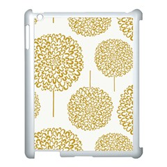 Loboloup Hydrangea Quote Floral And Botanical Flower Apple Ipad 3/4 Case (white) by Mariart