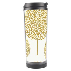 Loboloup Hydrangea Quote Floral And Botanical Flower Travel Tumbler by Mariart
