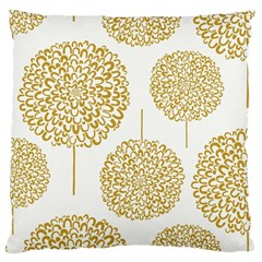 Loboloup Hydrangea Quote Floral And Botanical Flower Large Flano Cushion Case (two Sides) by Mariart