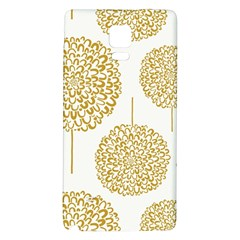 Loboloup Hydrangea Quote Floral And Botanical Flower Galaxy Note 4 Back Case by Mariart