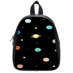 Planets Space School Bags (small)  by Mariart
