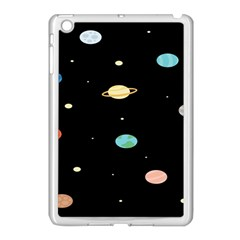 Planets Space Apple Ipad Mini Case (white) by Mariart