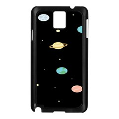 Planets Space Samsung Galaxy Note 3 N9005 Case (black) by Mariart