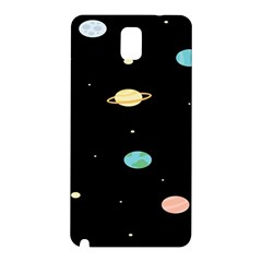 Planets Space Samsung Galaxy Note 3 N9005 Hardshell Back Case by Mariart