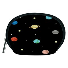 Planets Space Accessory Pouches (medium)  by Mariart