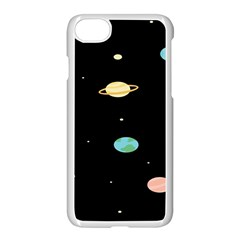Planets Space Apple Iphone 7 Seamless Case (white) by Mariart