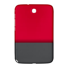 Red Gray Flag Line Horizontal Samsung Galaxy Note 8 0 N5100 Hardshell Case  by Mariart
