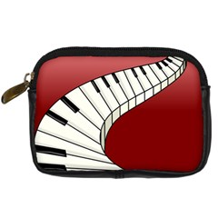 Piano Keys Music Digital Camera Cases by Mariart