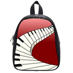 Piano Keys Music School Bags (small)  by Mariart
