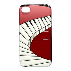 Piano Keys Music Apple Iphone 4/4s Hardshell Case With Stand by Mariart