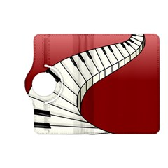 Piano Keys Music Kindle Fire Hd (2013) Flip 360 Case by Mariart