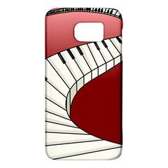 Piano Keys Music Galaxy S6 by Mariart