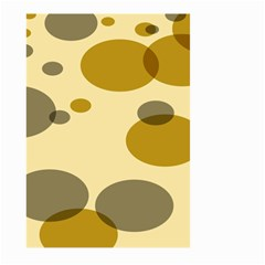 Polka Dots Large Garden Flag (two Sides) by Mariart
