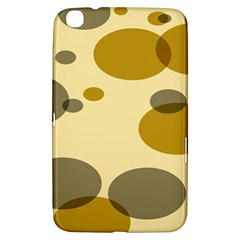 Polka Dots Samsung Galaxy Tab 3 (8 ) T3100 Hardshell Case  by Mariart
