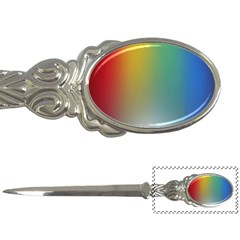 Rainbow Flag Simple Letter Openers by Mariart