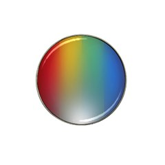 Rainbow Flag Simple Hat Clip Ball Marker by Mariart