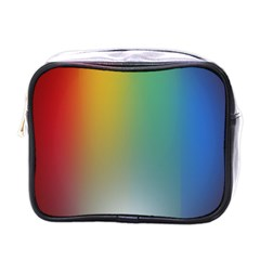 Rainbow Flag Simple Mini Toiletries Bags by Mariart