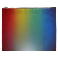 Rainbow Flag Simple Cosmetic Bag (xxxl)  by Mariart