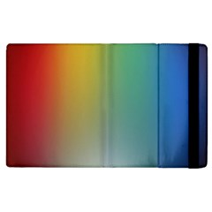 Rainbow Flag Simple Apple Ipad 3/4 Flip Case by Mariart