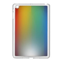 Rainbow Flag Simple Apple Ipad Mini Case (white) by Mariart