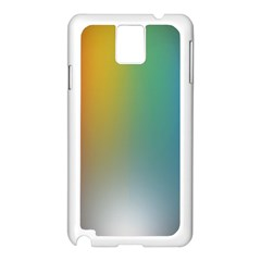 Rainbow Flag Simple Samsung Galaxy Note 3 N9005 Case (white) by Mariart