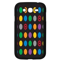 Polka Dots Rainbow Circle Samsung Galaxy Grand Duos I9082 Case (black) by Mariart