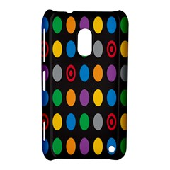 Polka Dots Rainbow Circle Nokia Lumia 620 by Mariart