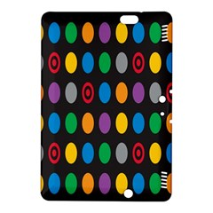 Polka Dots Rainbow Circle Kindle Fire Hdx 8 9  Hardshell Case by Mariart