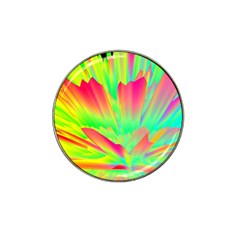 Screen Random Images Shadow Green Yellow Rainbow Light Hat Clip Ball Marker (4 Pack) by Mariart
