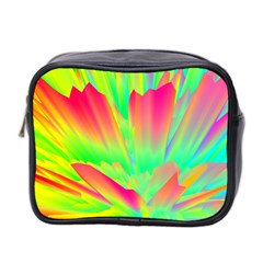 Screen Random Images Shadow Green Yellow Rainbow Light Mini Toiletries Bag 2 Side by Mariart
