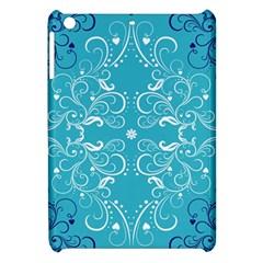 Repeatable Flower Leaf Blue Apple Ipad Mini Hardshell Case by Mariart