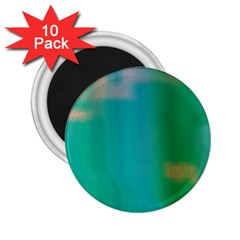 Shadow Faintly Faint Line Green 2 25  Magnets (10 Pack)  by Mariart