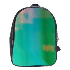 Shadow Faintly Faint Line Green School Bags (xl)  by Mariart