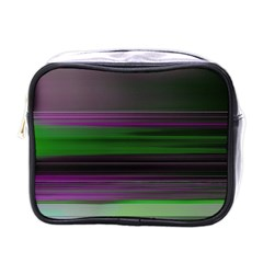 Screen Random Images Shadow Mini Toiletries Bags by Mariart
