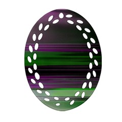 Screen Random Images Shadow Oval Filigree Ornament (two Sides) by Mariart