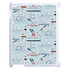 Ships Sails Apple Ipad 2 Case (white) by Mariart