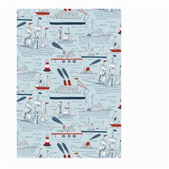 Ships Sails Large Garden Flag (two Sides) by Mariart
