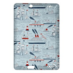 Ships Sails Amazon Kindle Fire Hd (2013) Hardshell Case by Mariart