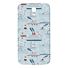 Ships Sails Samsung Galaxy Mega I9200 Hardshell Back Case by Mariart
