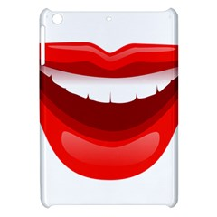 Smile Lips Transparent Red Sexy Apple Ipad Mini Hardshell Case by Mariart