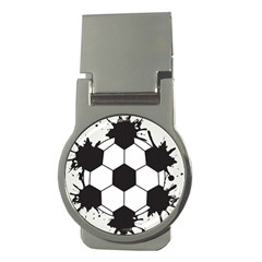 Soccer Camp Splat Ball Sport Money Clips (round)  by Mariart