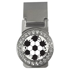 Soccer Camp Splat Ball Sport Money Clips (cz)  by Mariart